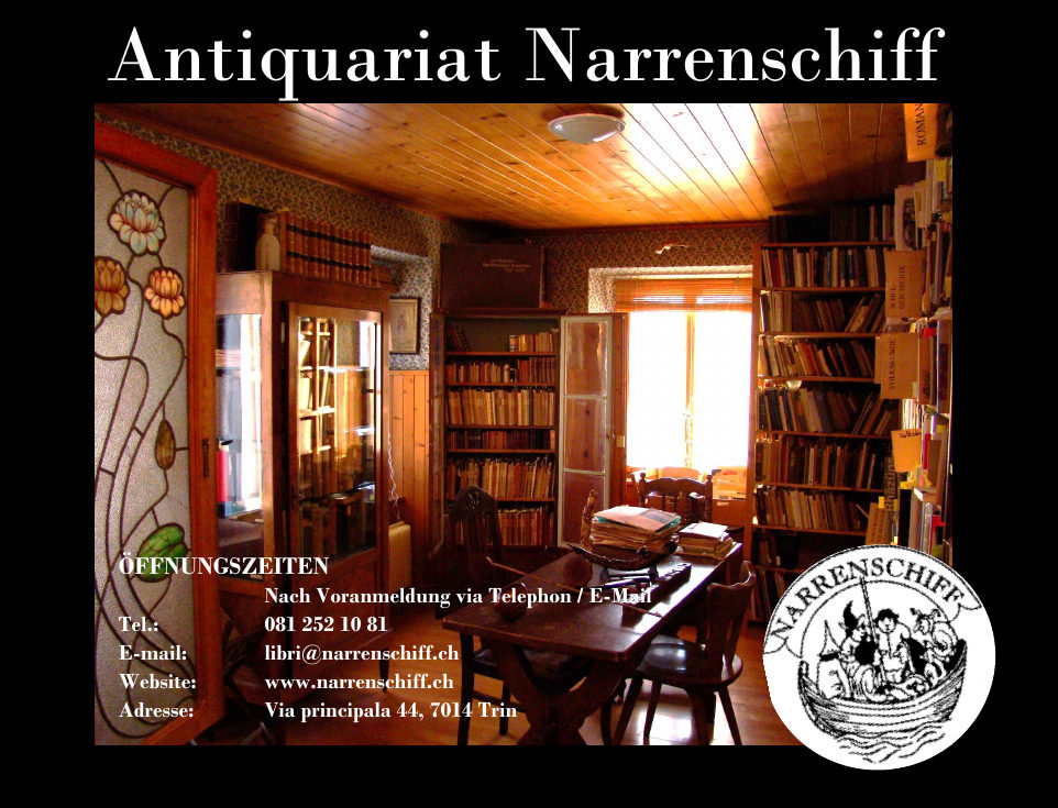 Antiquariat Narrenschiff Trin
